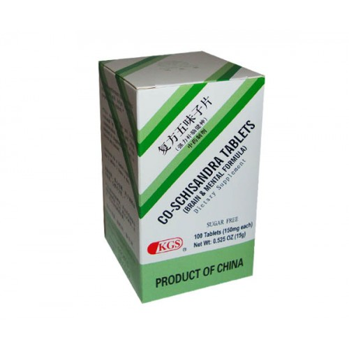Co Schisandra Tablets Fu Fang Wu Wei Zi Sugar Free