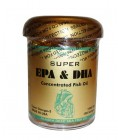 "Super EPA & DHA Concentrated Fish Oil (Nong Suo Shen Hai Yu You) ""100 Soft gels"""